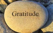 la gratitude est la meilleure façon d'accepter ce qui vous arrive pour enfin avancer