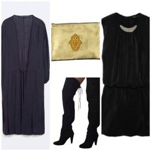 porter les cuissardes avec une robe tunique