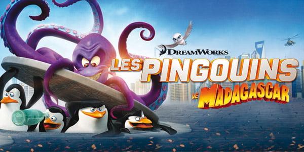 Les pingouins de Madagascar débarquent au cinéma