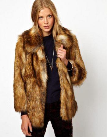 manteau en fourrure 2014-2015