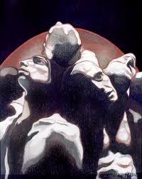 Ana Negro , artiste peintre argentine, les intranquilles