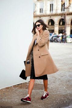 Comment porter le manteau camel?