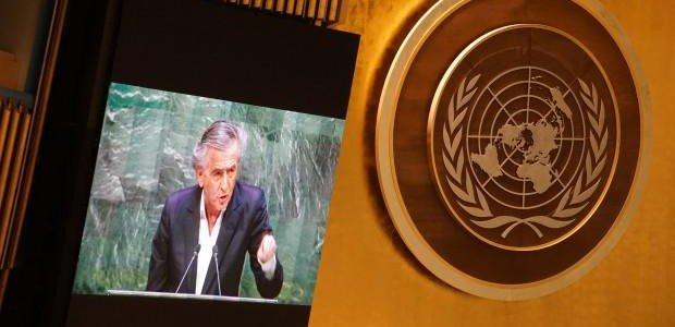 Le plus grand discours contre l'antisémitisme tenu par BHL devant l'ONU