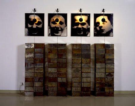 Les boites de Christian Boltanski, artiste juif contemporain