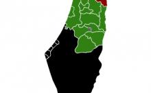 carte mensongère de la Palestine