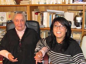 Dominique Aubier est à l'origine de la suppression du décret de l'expulsion des Juifs d'Espagne