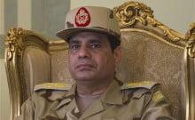 Abdel Fattah-Al- Sissi président égyptien