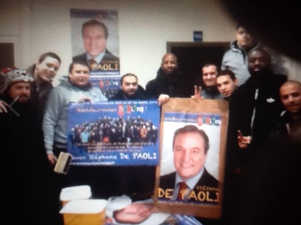 Union démocrate musulmans de France premier parti musulman en France à Bobigny