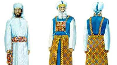 TETSAVE les vêtements du grand prêtre cohen