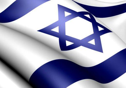 Un drapeau israélien fait de 100 000 biscuits