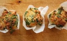 muffins épinards chèvre