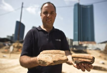 Les Egyptiens il y a 5000 ans buvaient de la biere à Tel-Aviv
