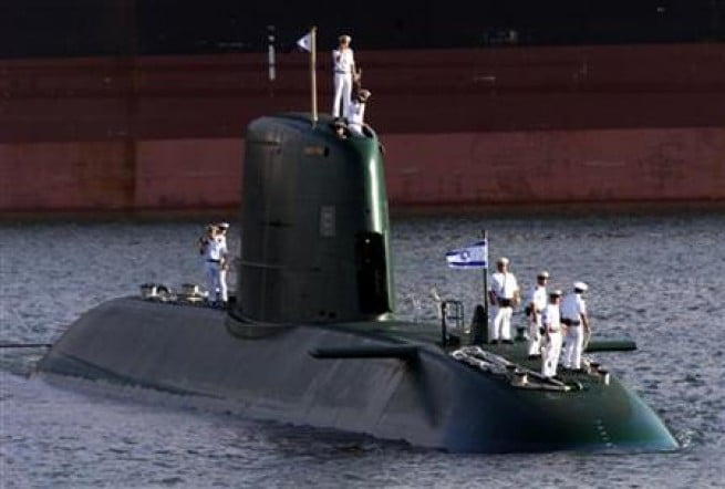 Israel :5 eme sous-marin allemand pour dissuader l'Iran