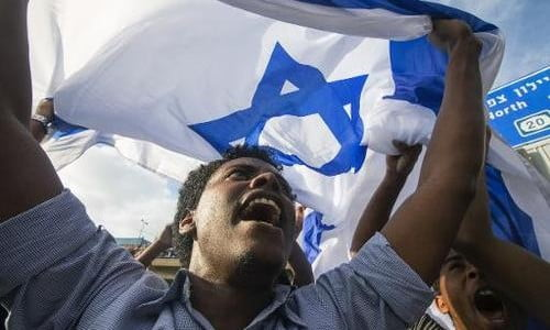 Je suis Juif éthiopien Israël est mon pays