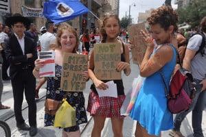 La slut walk à Jérusalem- Photo: Gil Yohanan pour Ynetnews