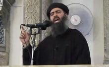 Abu Bakr al-Baghdadi grievement blessé
