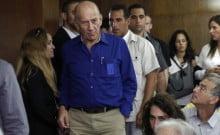 ehud-olmert. 8 mois de prison ferme pour corruption