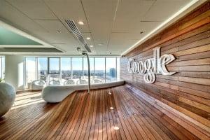 Les bureaux de Google à Tel Aviv