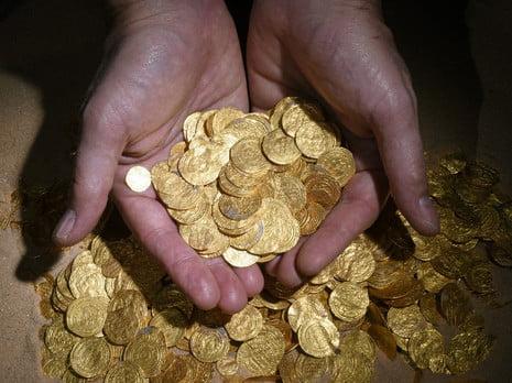 Il est l'or d'aller au Musée d'Israël à Jérusaelm