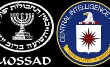coopération étroite entre Mossad, CIA, NSA les 3 services de renseignements au monde