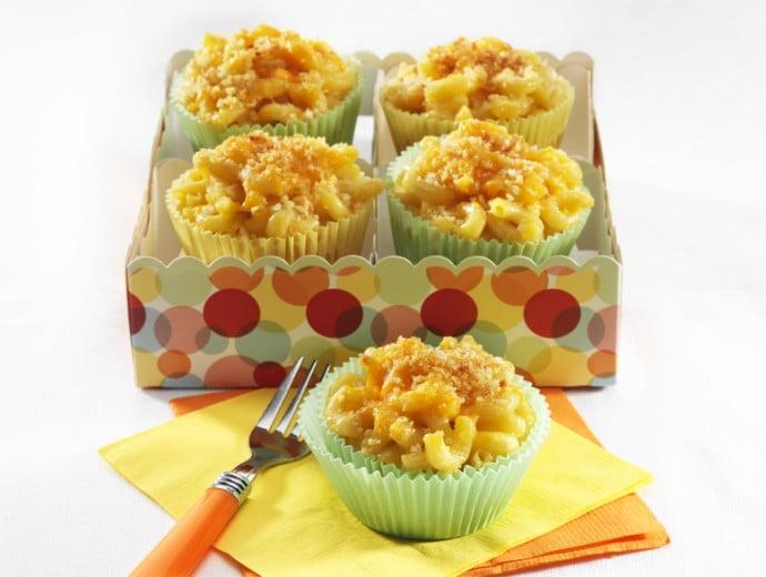 muffins de pates