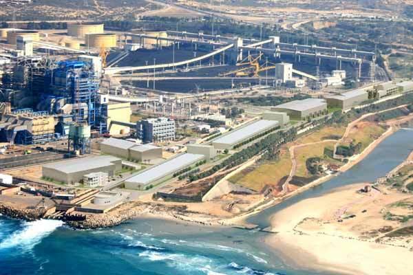usine de dessalement à Hadera en Israël