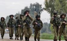 exercice militaire dans tout le pays en Israël