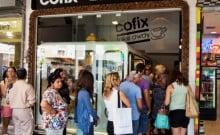 Cofix café par cher en Israël tout pour moins d'un euro