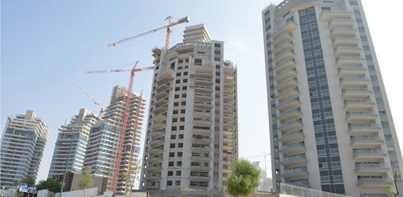 Vous achetez un bien immobilier neuf en Israël ? le nombre de salaires nécessaire est le double que pour un achat en Europe !