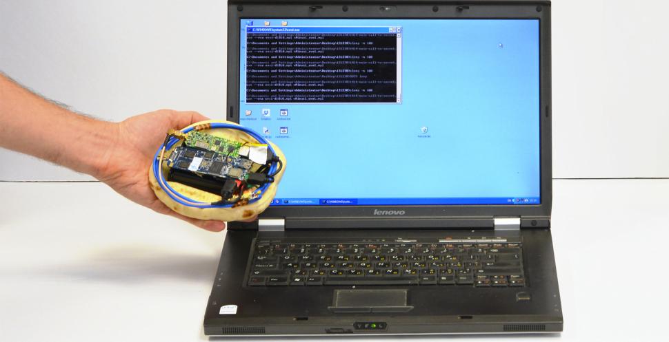 Une Pita subterfuge : des hackers dérobent des informations grâce à un appareil de la taille d'une pita (pain)