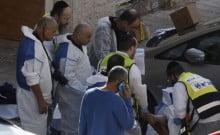 Attaques terroristes à Jérusalem des soldats blessés
