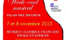 Novembre à Toulouse concert au profit des parachutistes