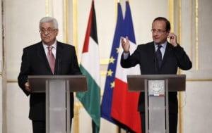 Mahmoud Abbas palestine à paris