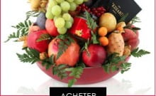Fêtez Rochachana avec les Corbeilles de fruits de chez Hédiard