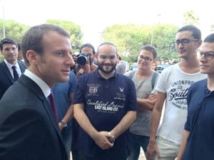 Macron au technion de Haifa , l'expérience israélienne avec Jordan ex de la prépa du technion de Haifa