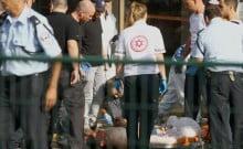 attaques au couteau à Ranana et Jérusalem mardi 13 octobre 15