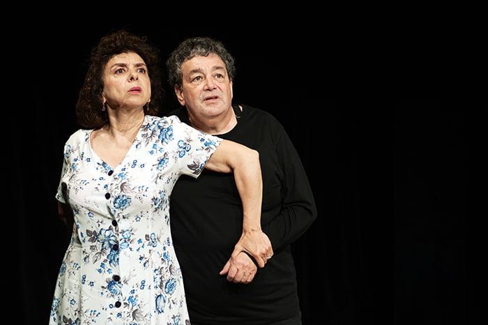 Adolf Cohen pièce de théâtre juive, à la comédie bastille à Paris avec Isabelle De Botton