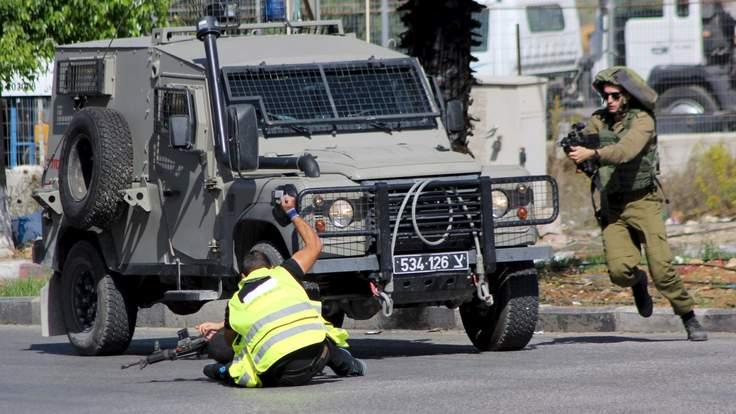 un terroriste abattu par l'armée israélienne tsahal il se faisait passer pour un journaliste