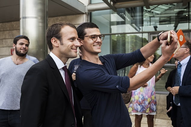 .l'expérience israélienne avec le ministre Marc Macron