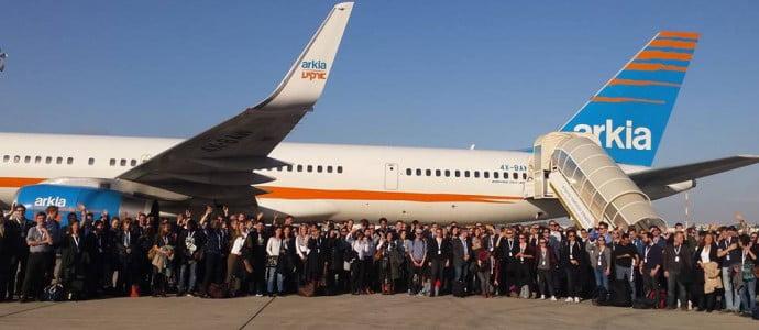 180 jeunes allemands arrivent en Israël