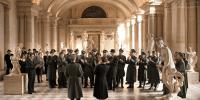 comment Le Louvre a t il pu échapper aux bombardements