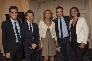 Jérémy REDLER, lors d'une visite en Israël avec des élus et Valérie Pécresse