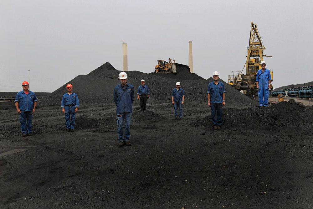 centrale électrique d'ashdod les ouvriers de la centrale