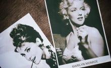 Audrey Hepburn et Marilyn Monroe