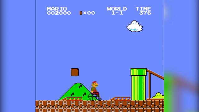 Mario en fauteuil roulant  comment ferait Mario si il était handicapé
