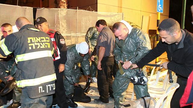 Suspicion d'attaque à l'anthrax à Rishon Letsion