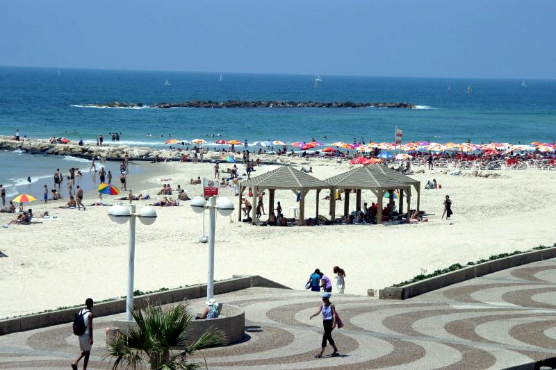 Jérusalem n'est elle que le nom d'une plage pour les habitants de Tel Aviv?
