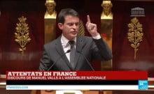 Manuel Walls c'est une certitude il y aura des attentats de grande ampleur en France