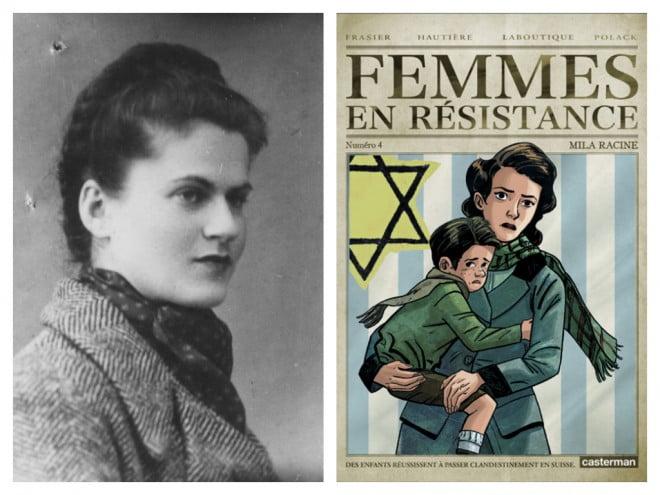 """Mila Racine (1921 - 1945) """"Organisation juive de combat : résistance/sauvetage, France, 1940 - 1945"""",  Editions «Autrement», collection Mémoires, n° 85, 2002"""