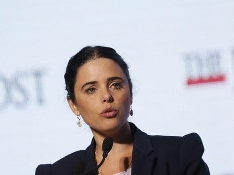 La Ministre Ayelet Shaked